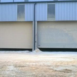 Brama przemysłowa segmentowa 2